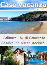 Case Vacanza Campania  :: Palinuro - Marina di Camerota - Casalvelino - Ascea - Acciaroli