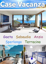 Case Vacanza Lazio :: Gaeta - Sabaudia - Anzio - Sperlonga - Terracina